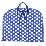 POLKA DOT BLUE- GARMENT BAG