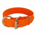 "buy discount  1.5"" inch Orange K-9 Komfort TufFlex D-End Collar"