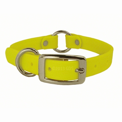 3/4 in. K-9 Komfort TufFlex Center Ring Puppy Collar - 12 inch