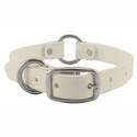 buy discount  White 3/4 in. TufFlex Puppy Collar