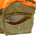 buy discount  Tin Cloth Upland Hunting Vest - Front Pocket Detail