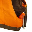 buy discount  Tin Cloth Upland Hunting Vest Back Vest Pocket