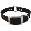 buy discount  1 in. Mendota DuraSoft Black Hunt Dog Center-Ring Collar