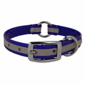 buy discount  3/4 in. K-9 Komfort Reflective Center Ring Puppy Collar -- 12 in. length