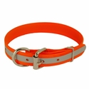 buy discount  1 in. K-9 Komfort Reflective Dee-End Dog Collar