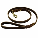 buy discount  Back Trail Outfitters 4 ft. x 3/4 in. Leather Snap Lead