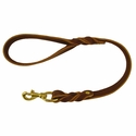 buy discount  Back Trail Outfitters Leather Snap Lead 2 ft. x 1 in.