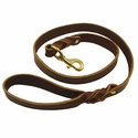 buy discount  Back Trail Outfitters Leather Snap Lead 4 ft. x 1 in.