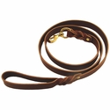 buy discount  Back Trail Outfitters 6 ft. x 1 in. Leather Snap Lead
