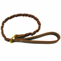 buy discount  Coyote Leather  Woven Slip Lead