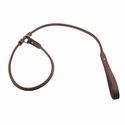 buy discount  4 ft. Round Leather Slip Lead by K-9 Komfort
