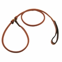 buy discount  6 ft. Round Leather Slip Lead by K-9 Komfort