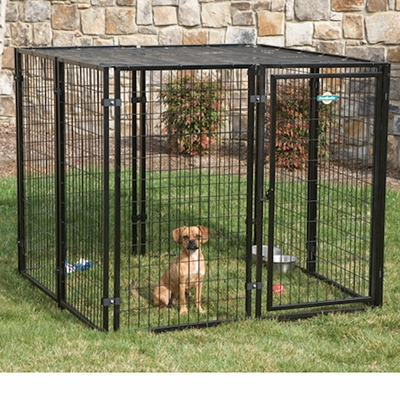 Petsafe Cottageview Boxed Dog Kennel -- 5 ft. x 5 ft. x 4 ft.