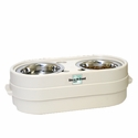 buy  Store-N-Feed Junior Raised Dog Bowl by Our Pet's
