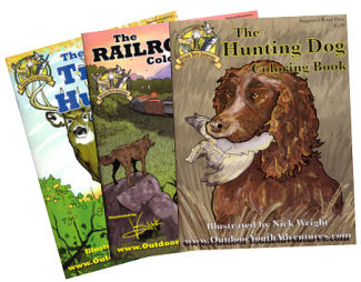 Coloring Books from Outdoor Youth Adventures