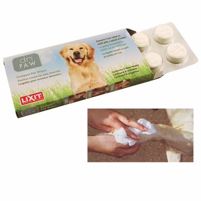 Lixit Dri Paw Insta Cloth Cotton Wipes