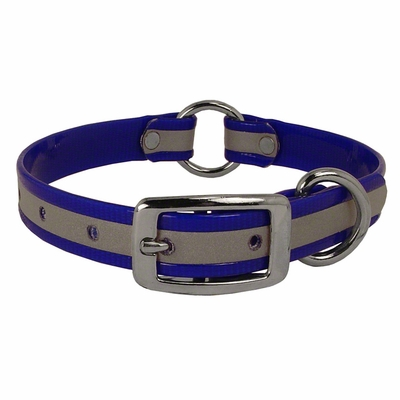 3/4 in. K-9 Komfort Reflective Center Ring Puppy Collar -- 12 in. length