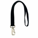 buy discount  BLACK LEASH Double-Ply Nylon Leash - 1 x 18  (2268)