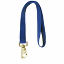 buy discount  BLUE LEASH Double-Ply Nylon Leash - 1 x 18  (2268)