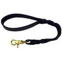 "buy discount  Black 18"" Latigo Twist Lead"