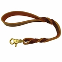 "buy discount  Brown 18"" Latigo Twist Lead"