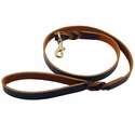 buy discount  Brown 6' Latigo Twist Leash