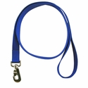 buy discount  BLUE LEASH Single-Ply Nylon Dog Leash - 1 in. x 6 ft. (2168)