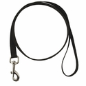 buy discount  BLACK LEASH Single-Ply Nylon Dog Leash - 3/4 in. x 6 ft. (2166)