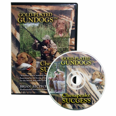 Gold-Plated Gundogs Chesapeake Success DVD