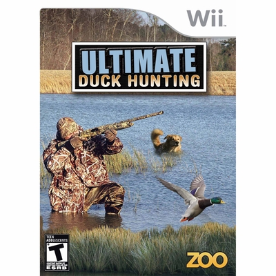Ultimate Duck Hunting Nintendo Wii Game