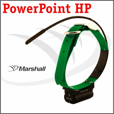 Marshall Radio Telemetry PowerPoint HP Tracking Additional Collar / Extra Transmitter - GREEN