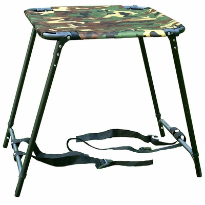 Tall Sportstand Folding Dog Stand with Camo Seat