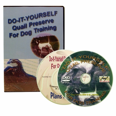 Do It Yourself - Quail Preserve for Dog Training DVD