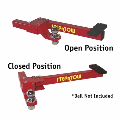 Step-N-Tow Trailer Hitch Receiver and Step