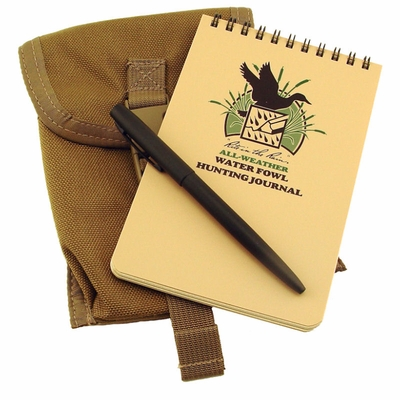 All Weather Water Fowl Hunting Journal Kit