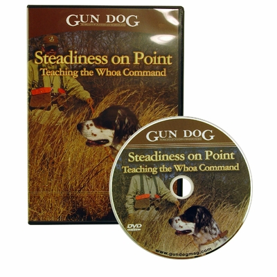 Gun Dog: Steadiness on Point DVD