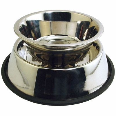 AntsOut 2 Qt. Stainless Steel Ant Proof Food Bowl