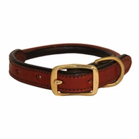 buy discount  3/4 in. K-9 Komfort Round Leather Puppy / Small Dog Collar