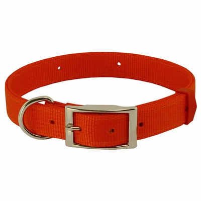 Field-Grade Treated Nylon Dee-End Dog Collar - #1672