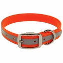 buy discount  Orange K-9 Komfort Standard 1 in. Reflective Collar