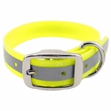 buy discount  Yellow K-9 Komfort Reflective 1 in. Standard Collar