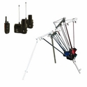 buy discount  Spider Winger 4-Shot Remote Ready Bird Launcher with Dogtra Remote Release