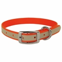 buy discount  Orange K-9 Komfort Reflective 3/4 in. Standard Puppy / Small Dog Collar