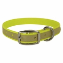 buy discount  Yellow K-9 Komfort Reflective 3/4 in. Standard Puppy / Small Dog Collar
