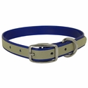 buy discount  Blue K-9 Komfort Reflective 3/4 in. Standard Puppy / Small Dog Collar