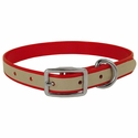 buy discount  Red K-9 Komfort Reflective 3/4 in. Standard Puppy / Small Dog Collar