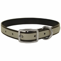 buy discount  CLEARANCE -- BLACK K-9 Komfort Reflective 3/4 in. Standard Puppy / Small Dog Collar