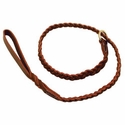 buy discount  K-9 Komfort 4 ft. Braided Leather Slip Lead