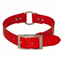 buy discount  Red 1 in. Center Ring Day Glow Collar by K-9 Komfort