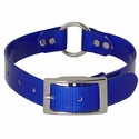 buy discount  Blue 1 in. Center Ring Day Glow Collar by K-9 Komfort